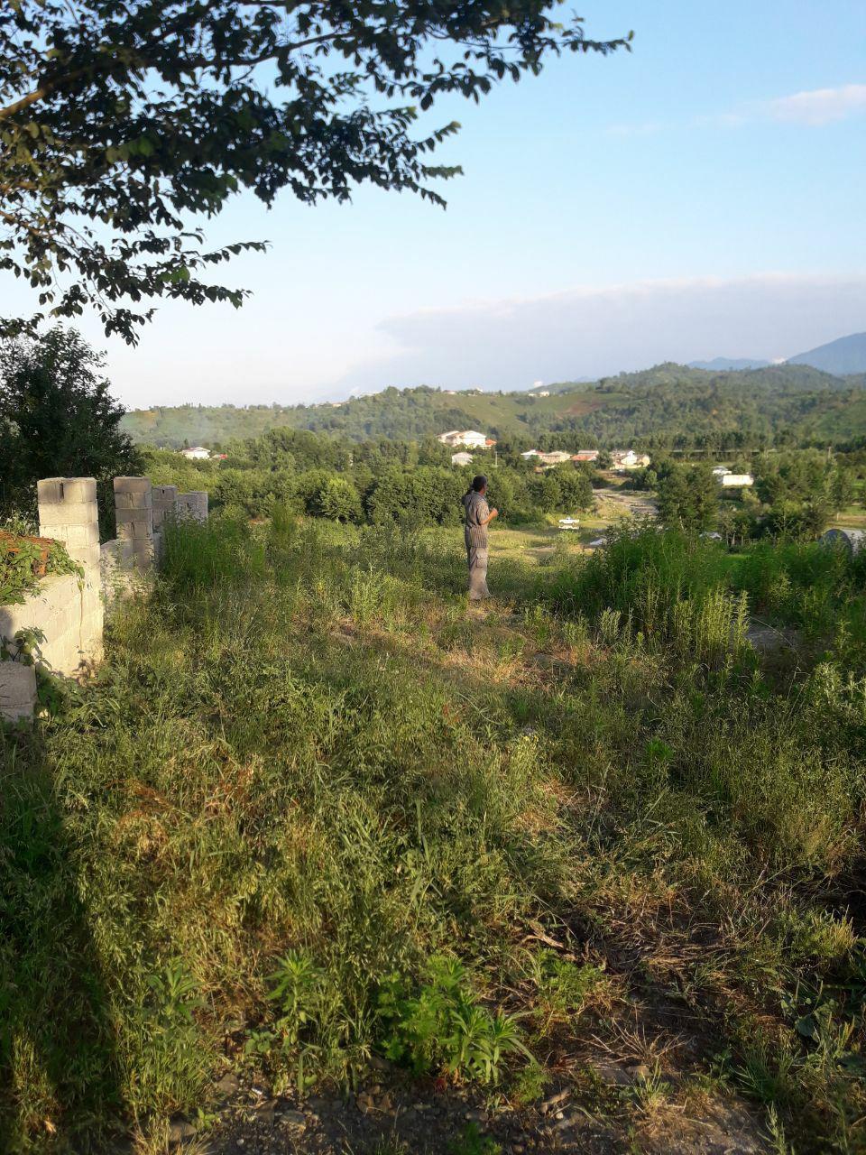 خرید زمین مسکونی  با چشم انداز عالی در اطاقور