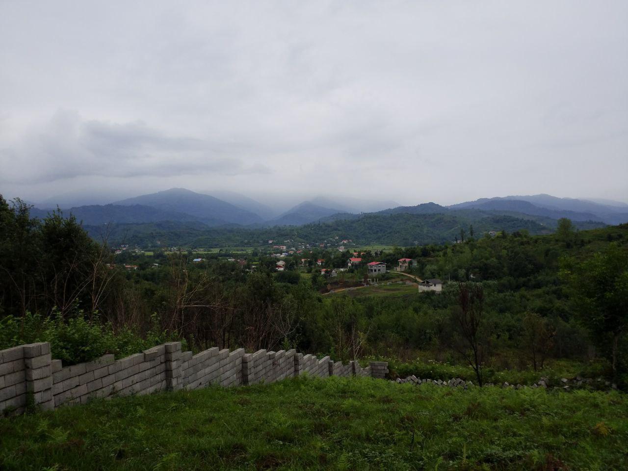 فروش زمین کوهستانی مسکونی در اطاقور