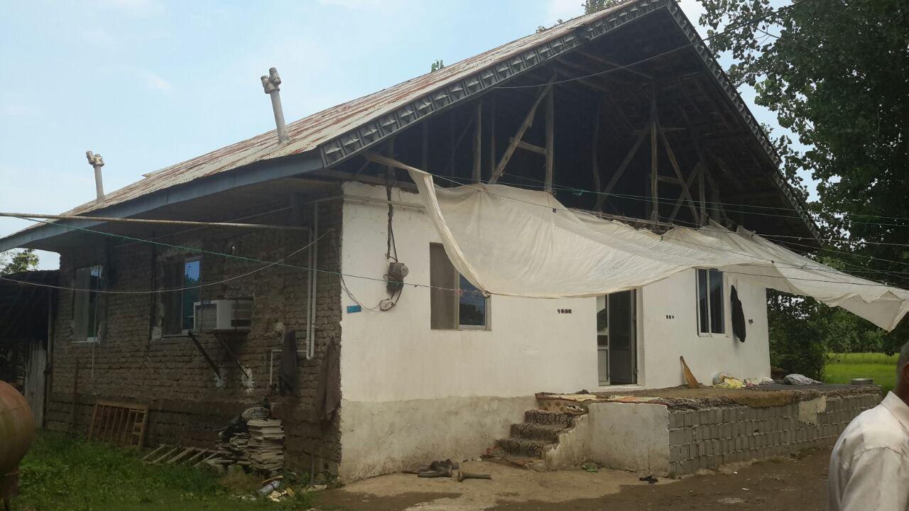 فروش خانه روستایی 1000 متر زمین لاهیجان