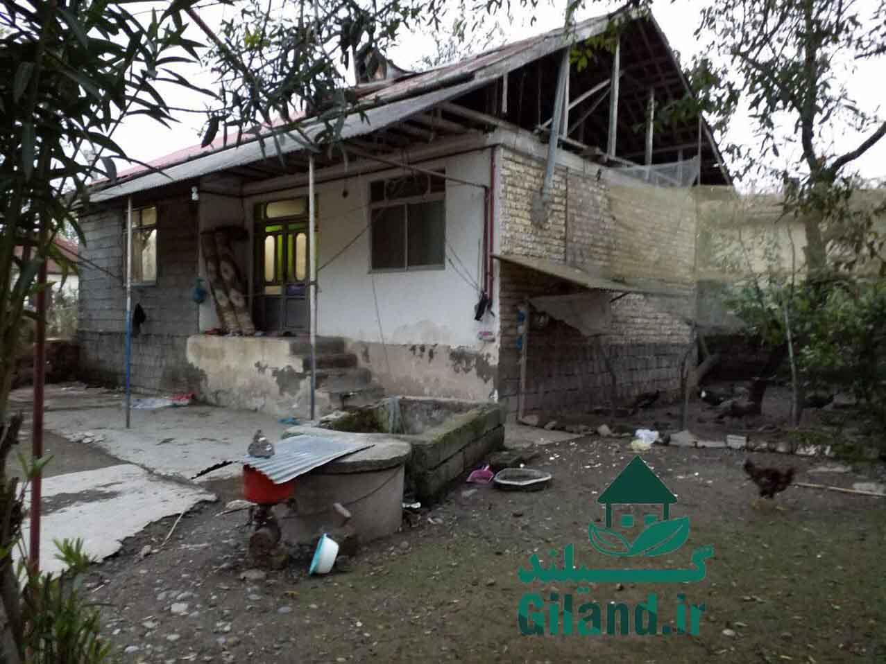 فروش خانه 110 متر با 1300 متر محوطه لاهیجان