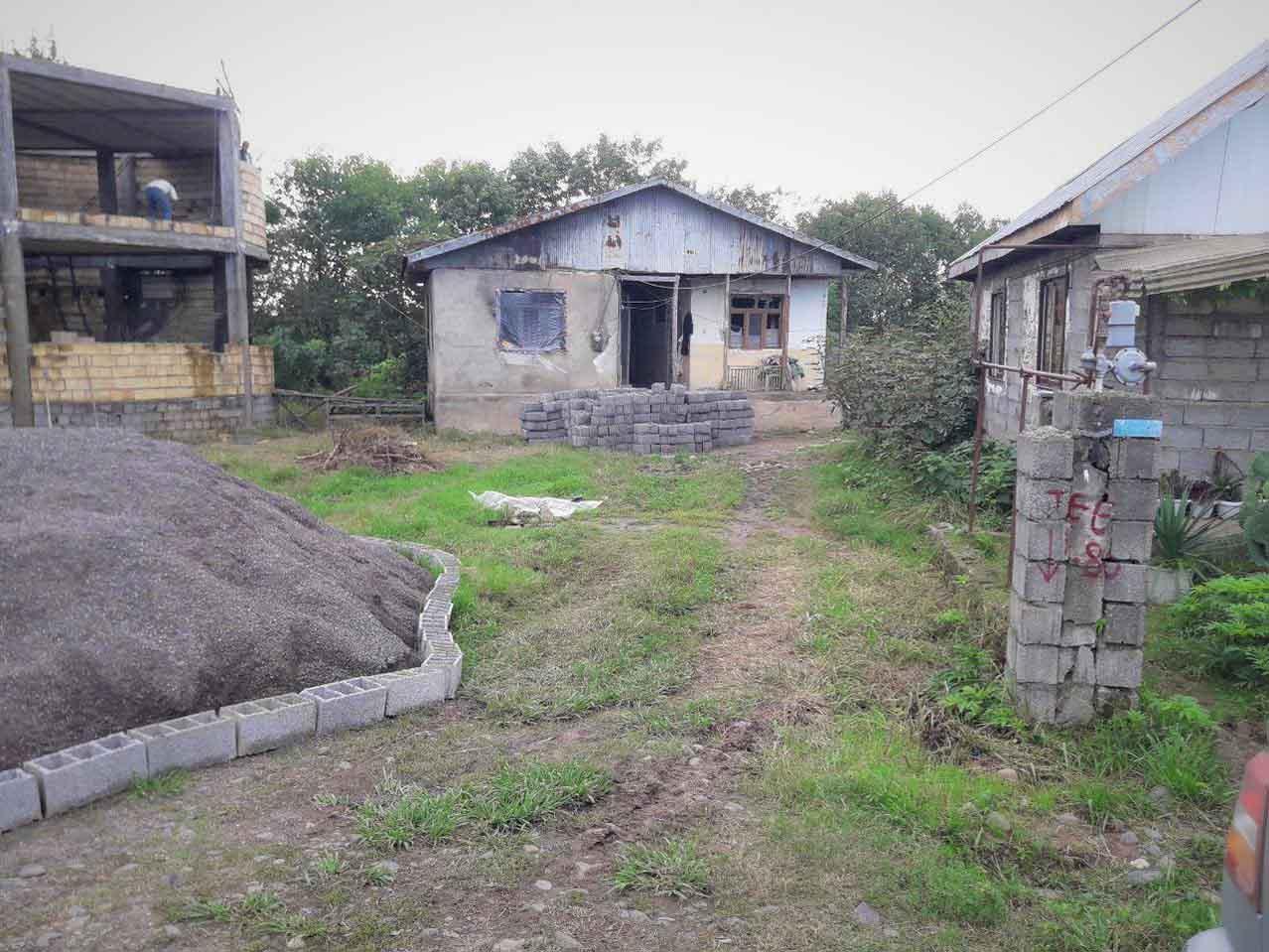 فروش خانه کلنگی 800 متر سیاهکل